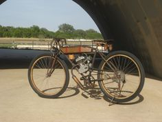 bicycle+with+motor | few Pics of my vintage board track in barn find condition