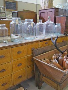 Jars for storage in pantry