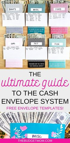The Ultimate Guide to the Cash Envelope System If you have researched how to budget, then you probably have heard of the cash envelope method. Use this Ultimate Guide to the Cash Envelope System in your budget today! Budget Envelopes, Money Envelopes, Cash Envelope Budget, Money Saving Challenge, Money Saving Tips, Money Tips, Money Budget, Savings Challenge, Managing Money