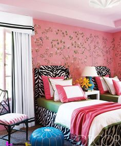 Every Girls Dream Room - Pink Chinoiserie Showcase Home