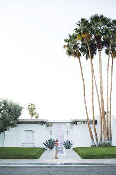 summer in Palm Springs