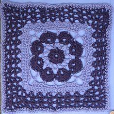 "Ravelry: More V's Please - 12"" square pattern by Melinda Miller CCC SOC WK 15"