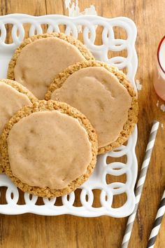 Love chai? You'll love these fragrant cardamom cookies made easy thanks to a pouch of Betty Crocker oatmeal cookie mix. (Cinnamon can be substituted for the cardamom if it's not your fave.) Layer on an easy butterscotch-cinnamon icing and you've got comforting cookie you might not want to share.