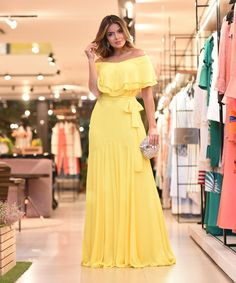 Yellow Prom Dresses ,Evening Gowns Party Dress New Evening Dress on Luulla Trendy Dresses, Casual Dresses, Fashion Dresses, Casual Outfits, Evening Dresses, Prom Dresses, Summer Dresses, Dress Prom, Summer Maxi