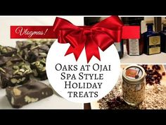Prepare to eat healthy over the holidays.  Spa Style Holiday Recipes with Spa Vlogmas Candy Holladay | The Oaks at Ojai
