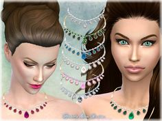 Motherly' Love Necklace by alin2 at TSR via Sims 4 Updates