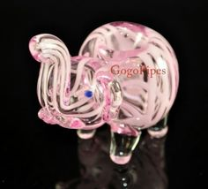 Cute pink elephant pipe/bowl