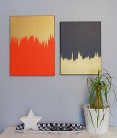 25 Creative and Easy DIY Canvas Wall Art Ideas.Be an artist yourself and make beautiful art for your home. You don't have to pay a lot of money on art pieces, you can simply create them by yourself. Metal Tree Wall Art, Diy Wall Art, Diy Wall Decor, Modern Wall Art, Diy Artwork, Art Decor, Metal Art, Modern Decor, Modern Design