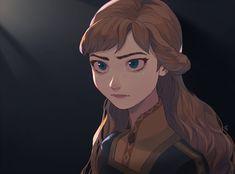 Princess Anna of Arendelle - Frozen (Disney) - Image - Zerochan Anime Image Board Frozen Fan Art, Frozen And Tangled, Anna Frozen, Disney Frozen, Disney Nerd, Disney Fan Art, Cute Disney, Disney Films, Disney And Dreamworks