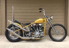 Chop it like you STOLE it! Harley Davidson Roadster, Harley Davidson Panhead, Davidson Bike, Chopper Motorcycle, Bobber Chopper, Custom Bobber, Custom Bikes, Body Armor Plates, Old School Motorcycles