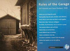 Kastika. Micro-Blog. - Estas son las 12 reglas creadas por Bill Hewlett y...