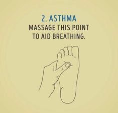 Asthma, characterized by difficulty in breathing, is a chronic lung condition. Asthma patients have hyper responsive airways that narrow down when irritated. Asthma Relief, Asthma Symptoms, Acupressure Treatment, Acupressure Points, Natural Asthma Remedies, Health Remedies, Massage Tips, Massage Therapy, Alternative Health