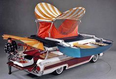 What happens when ... a 1959 Ford Country Squire Station Wagon and Chitty Chitty Bang Bang … have a baby !!! ...