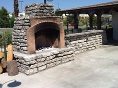 Anyone in search of sustainable building materials can look to urbanite. Concrete can be re-used for sustainable building and beautiful landscape features. Recycled Concrete, Broken Concrete, Concrete Slab, Outdoor Oven, Outdoor Fire, Sustainable Building Materials, Commercial Landscaping, Concrete Fireplace, Backyard