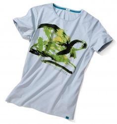 Dieses Shirt wurde von einem Affen entworfen! Der Affe finanziert dadurch Arterhaltungsprojekte für seine Artgenossen in freier Wildbahn!