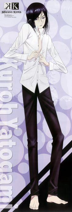 Yatogami Kuroh - K Project - K Anime - K Missing Kings