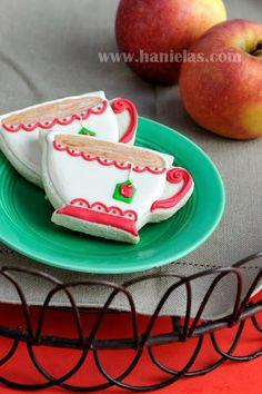 Haniela's: Pretty Tea Cup Cookies Tutorial