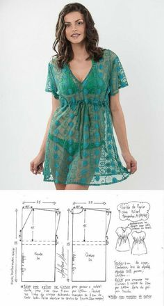 Dress Sewing Patterns, Baby Patterns, Clothing Patterns, Sewing Clothes Women, Diy Clothes, Kleidung Design, Costura Fashion, Coin Couture, Sewing Blouses