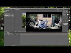 How To Create Slit Scan Video using After Effects - YouTube