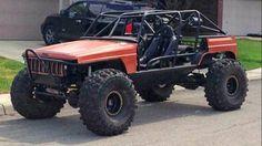 My Jeep Addiction Vw Rabbit Pickup, Jeep Pickup, Jeep Xj Mods, Dodge Ramcharger, Jeep Cherokee Xj, Custom Jeep, Off Road, Roll Cage, Jeep Wrangler