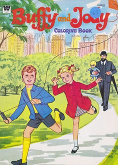 Poor mr french gets stuck carrying mrs Beasley. Hope he got paid enough Vintage Coloring Books, Vintage Children's Books, Vintage Toys, Anissa Jones, Mrs Beasley, Painted Books, Vintage Paper Dolls, Family Affair, Vintage Colors