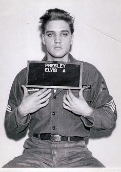 Elvis Army Mugshot