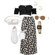 Image may contain: shoes Skirt Outfits, Chic Outfits, Pretty Outfits, Summer Outfits, Fashion Outfits, Cute Fashion, Teen Fashion, Korean Fashion, Womens Fashion