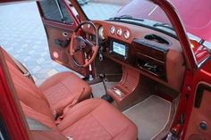 1303 dash, but love the layout and leather wrap