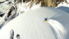 gopro_hd_avalanche_cliff_jump_with_matthias_giraud #GoPro