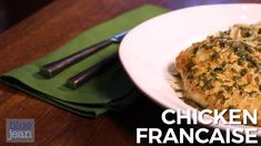 Chicken Francaise is an American-Italian dish (despite it's name!) made with quick-seared chicken cutlets accompanied by a simple lemon butter pan sauce. Easy Healthy Dinners, Healthy Dinner Recipes, Dog Food Recipes, Vegetarian Recipes, Cooking Recipes, Easy Chicken Dinner Recipes, Chicken Recepies, Chicken Francaise Recipe, Paleo
