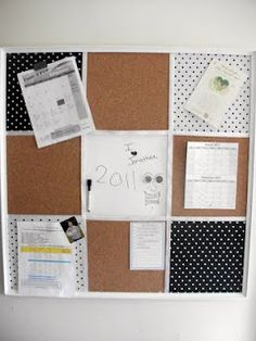 Pottery barn knock off magnetic board  good how to pics