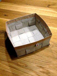 muckelfuchs: Upcycling Papierbox