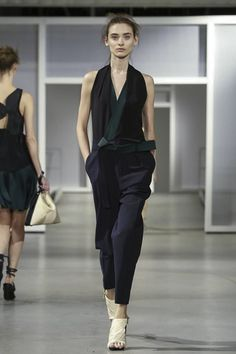 Great silhouette! - 3.1 Phillip Lim Ready To Wear Spring Summer 2015 New York #NYFW #SS15 #RTW