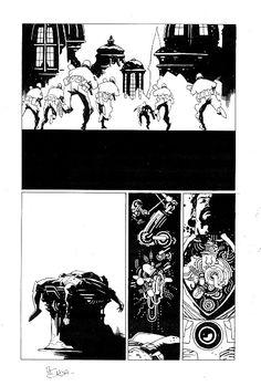 Ray Bradbury Comics 4, The CIty page 7 Comic Art