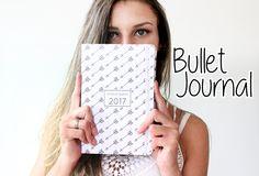 Blog da Vick: DIY | Bullet Journal - Organizando seu 2017 !