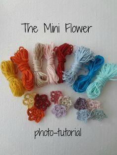 The Mini Flower - a photo tutorial