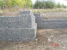 Gabion retaining wall systems