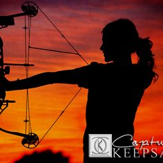 Creative senior pics bow hunter! totally going to have this pic done with my bow!!!!