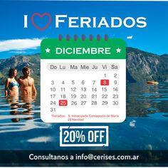Vení a disfrutar del fin de semana largo con un 20% OFF !! Consultanos a info@cerises.com.ar. Te esperamos ! (promoción válida solo abonando en efectivo) #vacaciones #letempsdescerises #escapadas #sanmartindelosandes #lagolacar #primavera #findelargo