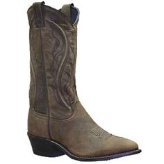 "Sage 11"" #Longhorn #Western Boots $124.53 This stylish womens boot features an oiled #cowhide shaft with pull straps for ease. Longhorn Cowhide #CowboyBoot. Cushioned Insole. Composite Outsole.  Boot Height: Approx. 11'' Tall. Heel Height: Approx. 1 1/2'' Tall."