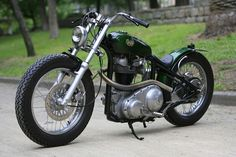 AJS 'Green Peace' by Heiwa Motorcycles | Japan