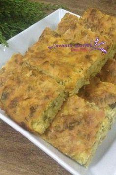 Pırasalı Mısır Ekmeği