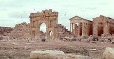 Roman ruins of Sufetula, southern Tunisia