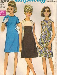 1960s Simplicity 7535 Vintage Sewing Pattern by midvalecottage