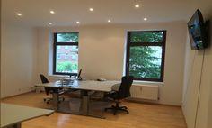 Helles Büro in historischem Gebäude in Gerresheim #Büro, #Bürogemeinschaft, #Office, #Coworking, #Dusseldorf, #Düsseldorf