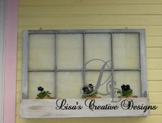 Upcycled Chic ~ Decorating With Vintage Windows