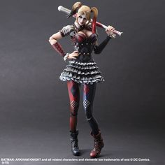 Buy Square Enix DC Comics Batman Arkham Knight Harley Quinn Play Arts Kai Figure from My Geek Box, the home of geeky subscription boxes! Harley Quinn, Joker And Harley, Batman Arkham Knight, Joker Arkham, Joker Batman, Kai, Figurine Batman, Statues, Deadpool