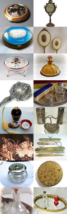 Vanity #voguet. Shop of the day treasury Curator: Anat R from https://www.etsy.com/shop/Underlyingsimplicity
