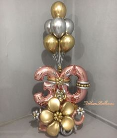 Birthday Balloon Decorations, Balloon Centerpieces, Birthday Balloons, Balloon Columns, Balloon Garland, Balloon Bouquet Delivery, Balloon Clusters, Paper Flower Patterns, Balloon Stands