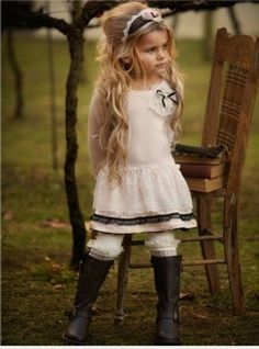 Kids outfit..omg i love this!! Great Kids Fashion. How to make your kids look the part...